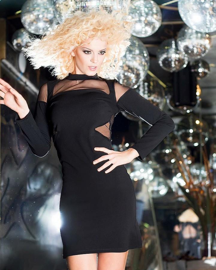 Traiana Anania model & actress. Photoshoot of model Traiana Anania demonstrating Fashion Modeling.designer: Rock My PrinceFashion Modeling Photo #177824