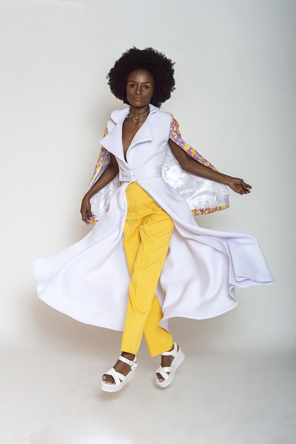 Triza Mutisya model. Photoshoot of model Triza Mutisya demonstrating Commercial Modeling.Designer: IG @miss__kyengoPhotography: IG @KuyohphotographyCommercial Modeling Photo #211882