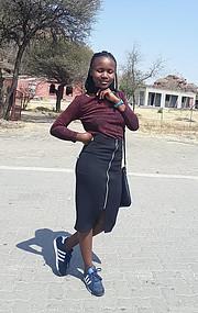 Tshenolo Letlhake model. Photoshoot of model Tshenolo Letlhake demonstrating Fashion Modeling.Fashion Modeling Photo #215559