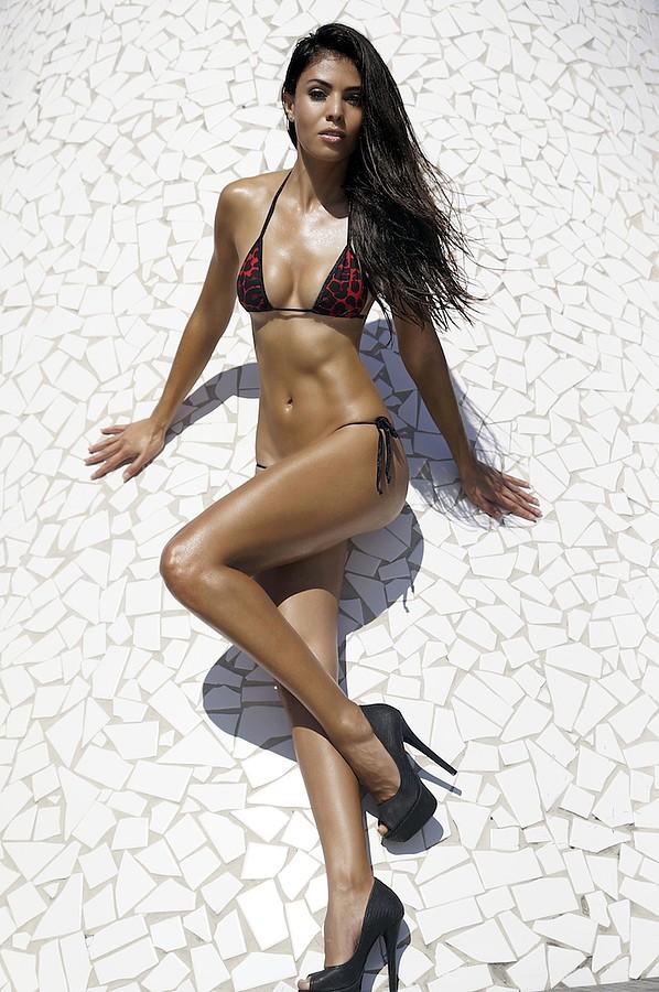 Tugba Erca model. Photoshoot of model Tugba Erca demonstrating Body Modeling.Body Modeling Photo #113144