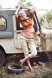 Tuva Heger model (modell). Photoshoot of model Tuva Heger demonstrating Fashion Modeling.Fashion Modeling Photo #93097