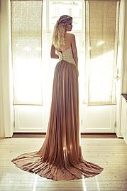 Tuva Heger model (modell). Photoshoot of model Tuva Heger demonstrating Fashion Modeling.Evening DressFashion Modeling Photo #93117