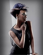 Ty Ish model. Photoshoot of model Ty Ish demonstrating Face Modeling.Face Modeling Photo #120598