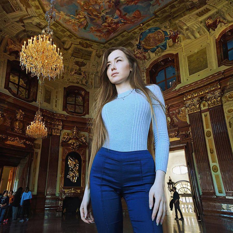 Valeria Gurevich model. Photoshoot of model Valeria Gurevich demonstrating Fashion Modeling.Fashion Modeling Photo #197580