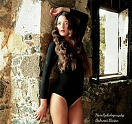 Valeria Kameri model. Photoshoot of model Valeria Kameri demonstrating Fashion Modeling.Fashion Modeling Photo #144915