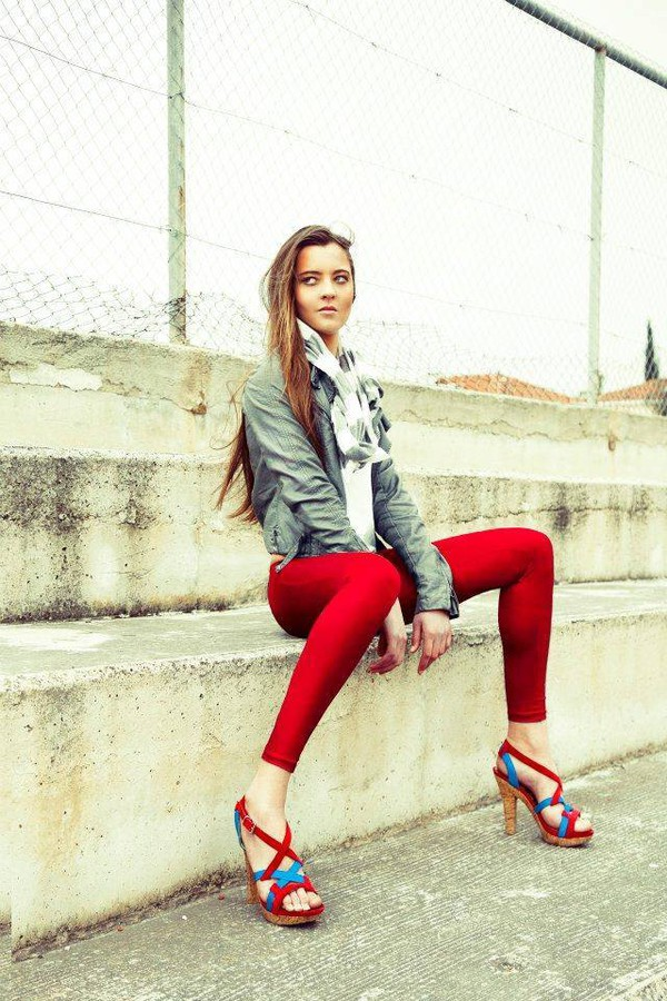 Valeria Kameri model. Photoshoot of model Valeria Kameri demonstrating Fashion Modeling.Fashion Modeling Photo #144924