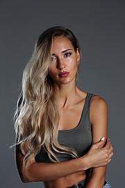 Valeria Kuzina model. Photoshoot of model Valeria Kuzina demonstrating Face Modeling.Face Modeling Photo #202479