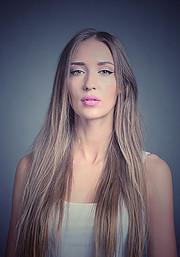 Valeria Kuzina model. Photoshoot of model Valeria Kuzina demonstrating Face Modeling.Face Modeling Photo #202489
