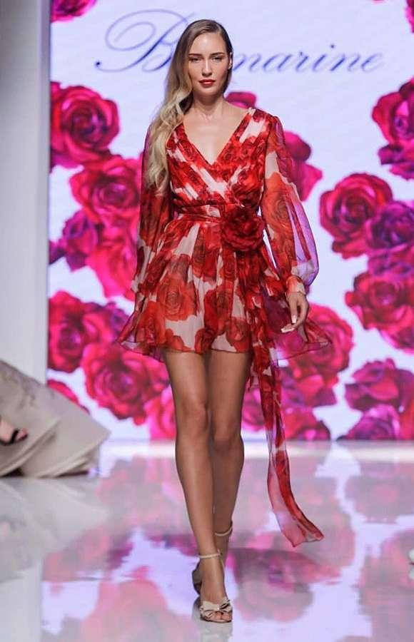 Valeria Kuzina model. Photoshoot of model Valeria Kuzina demonstrating Runway Modeling.Runway Modeling Photo #212413
