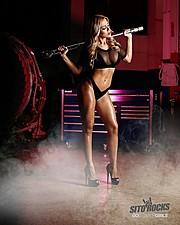 Valeria Orsini model. Photoshoot of model Valeria Orsini demonstrating Body Modeling.Body Modeling Photo #170476
