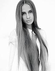 Valeria Sokolova model. Photoshoot of model Valeria Sokolova demonstrating Face Modeling.Face Modeling Photo #139959