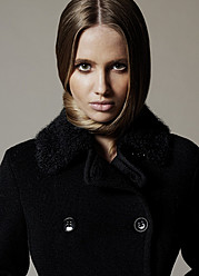 Valeria Sokolova model. Photoshoot of model Valeria Sokolova demonstrating Face Modeling.Face Modeling Photo #139963
