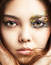 Vanessa Collins makeup artist. Work by makeup artist Vanessa Collins demonstrating Beauty Makeup.Face CloseupBeauty Makeup Photo #55314