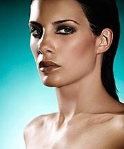 Vanessa Collins makeup artist. Work by makeup artist Vanessa Collins demonstrating Beauty Makeup.ScarfBeauty Makeup Photo #55311