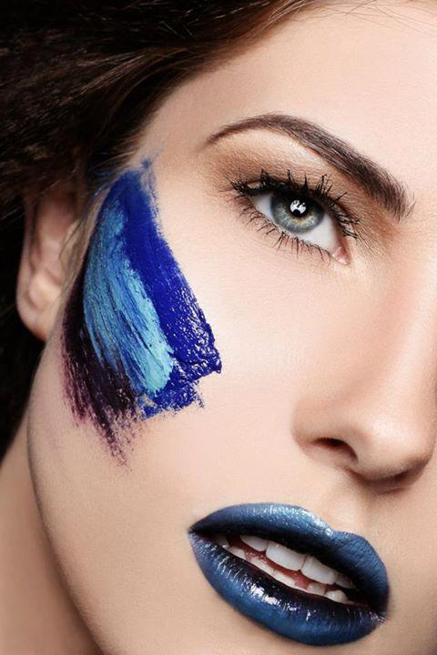 Vanessa Mills makeup artist. Work by makeup artist Vanessa Mills demonstrating Creative Makeup.Portrait Photography,Creative Makeup Photo #49273