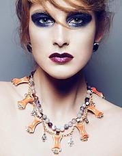 Vanessa Mills makeup artist. Work by makeup artist Vanessa Mills demonstrating Creative Makeup.Creative Makeup Photo #59720