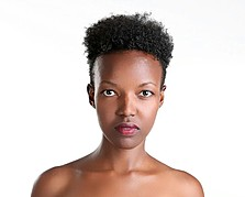 Vanessa Ochieng model. Photoshoot of model Vanessa Ochieng demonstrating Face Modeling.Face Modeling Photo #186228