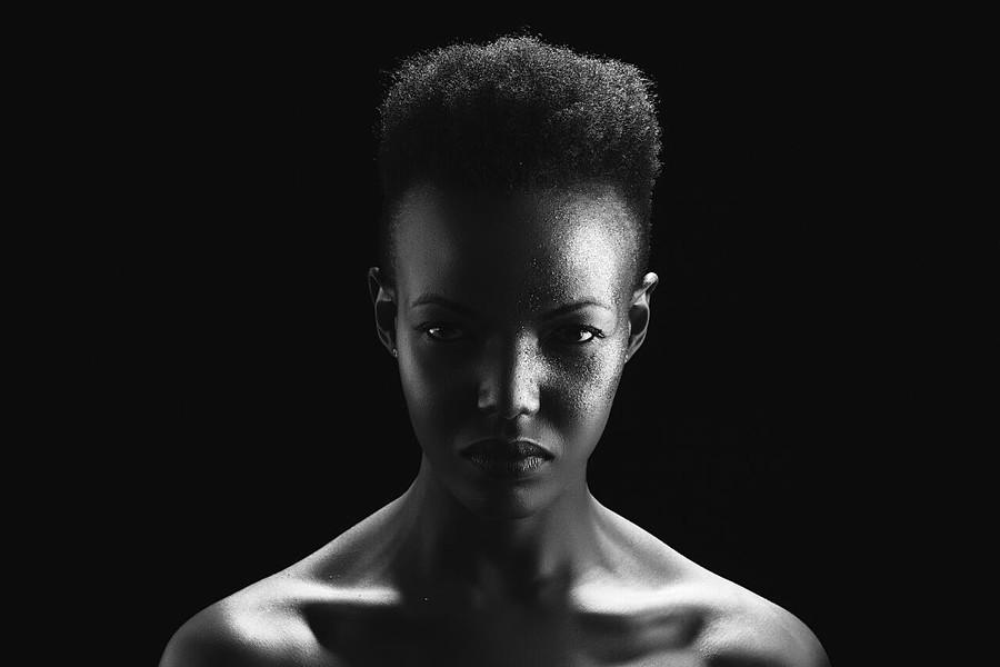 Vanessa Ochieng model. Photoshoot of model Vanessa Ochieng demonstrating Face Modeling.Face Modeling Photo #186228