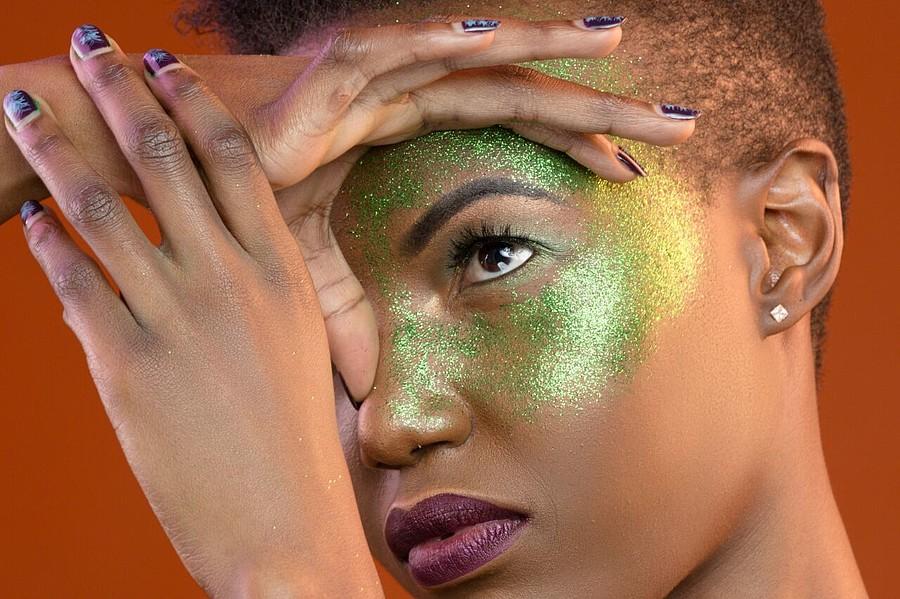 Vanessa Ochieng model. Photoshoot of model Vanessa Ochieng demonstrating Face Modeling.Face Modeling Photo #186324