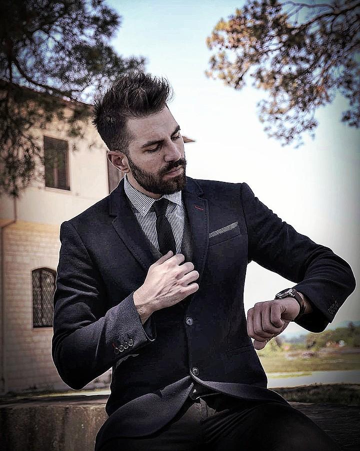 Vasileios Vasakos model (μοντέλο). Photoshoot of model Vasileios Vasakos demonstrating Fashion Modeling.Fashion Modeling Photo #182148