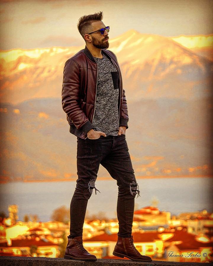 Vasileios Vasakos model (μοντέλο). Photoshoot of model Vasileios Vasakos demonstrating Fashion Modeling.Fashion Modeling Photo #182155