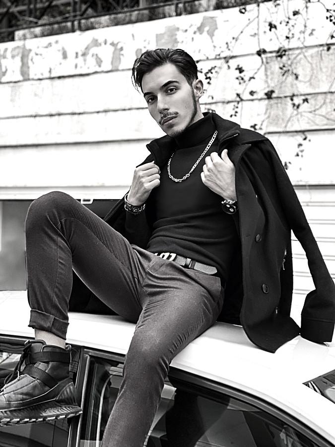 Vasilis Lazaridis model (Βασίλης Λαζαρίδης μοντέλο). Photoshoot of model Vasilis Lazaridis demonstrating Fashion Modeling.Fashion Modeling Photo #232261
