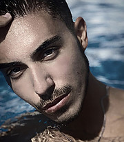 Vasilis Lazaridis model (Βασίλης Λαζαρίδης μοντέλο). Photoshoot of model Vasilis Lazaridis demonstrating Face Modeling.Face Modeling Photo #232265