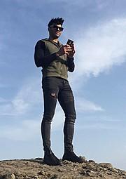Vasilis Papageorgiou model (μοντέλο). Photoshoot of model Vasilis Papageorgiou demonstrating Fashion Modeling.Fashion Modeling Photo #181341