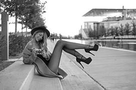 Vassilis Pitoulis photographer (φωτογράφος). Work by photographer Vassilis Pitoulis demonstrating Fashion Photography in a photo-session with the model Kirsten Ciel Lauder.model: Kirsten Ciel Lauderdesigner: ELeKarelaNecklaceFashion Photography Pho