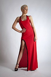 Vassilis Thom fashion designer (σχεδιαστής μόδας). design by fashion designer Vassilis Thom.Evening Dress Photo #78216