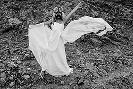 Venetia Psomiadou (Βενετία Ψωμιάδου) model & actress. Photoshoot of model Venetia Psomiadou demonstrating Editorial Modeling.Editorial Modeling Photo #198912