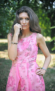 Veronica Lorini model (modella). Photoshoot of model Veronica Lorini demonstrating Fashion Modeling.Fashion Modeling Photo #160130