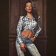 Veronika Kravchuk (Verónika Kravchuk) model & tv host. Photoshoot of model Veronika Kravchuk demonstrating Fashion Modeling.Fashion Modeling Photo #123765