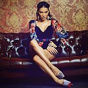 Veronika Kravchuk (Verónika Kravchuk) model & tv host. Photoshoot of model Veronika Kravchuk demonstrating Fashion Modeling.Fashion Modeling Photo #123793