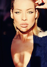 Veronika Kravchuk (Verónika Kravchuk) model & tv host. Photoshoot of model Veronika Kravchuk demonstrating Face Modeling.Face Modeling Photo #123804