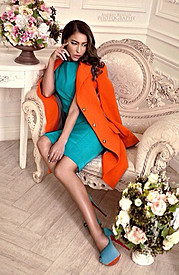 Veronika Kravchuk (Verónika Kravchuk) model & tv host. Photoshoot of model Veronika Kravchuk demonstrating Fashion Modeling.Fashion Modeling Photo #123818