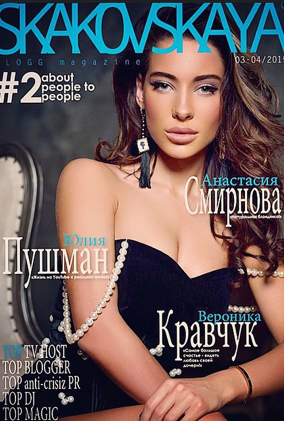 Veronika Kravchuk (Verónika Kravchuk) model & tv host. Modeling work by model Veronika Kravchuk. Photo #165665
