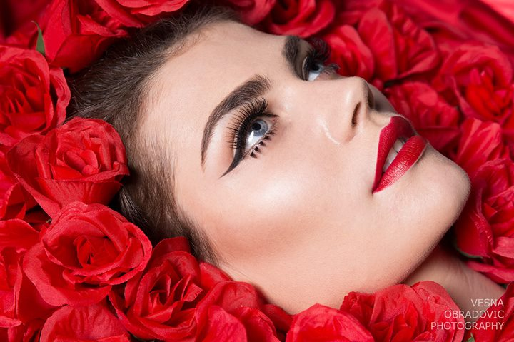 Vesna Obradovic makeup artist & photographer. Work by makeup artist Vesna Obradovic demonstrating Beauty Makeup.Portrait Photography,Beauty Makeup Photo #101207