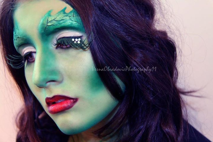 Vesna Obradovic makeup artist & photographer. Work by makeup artist Vesna Obradovic demonstrating Creative Makeup.Creative Makeup Photo #79213