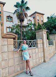 Victoria Patsiuk model. Photoshoot of model Victoria Patsiuk demonstrating Fashion Modeling.Fashion Modeling Photo #231878