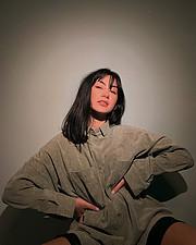 Victoria Tona model (μοντέλο). Photoshoot of model Victoria Tona demonstrating Face Modeling.Face Modeling Photo #229113