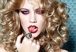 Viktorija Bowers makeup artist. Work by makeup artist Viktorija Bowers demonstrating Beauty Makeup.Beauty Makeup Photo #78973