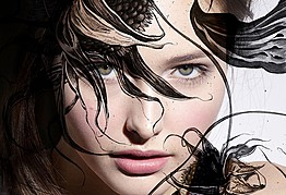 Viktorija Bowers makeup artist. Work by makeup artist Viktorija Bowers demonstrating Beauty Makeup.Beauty Makeup Photo #78981