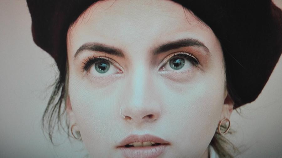 Violeta Eleni Bligiannou model. Photoshoot of model Violeta Eleni Bligiannou demonstrating Face Modeling.Face Modeling Photo #195173