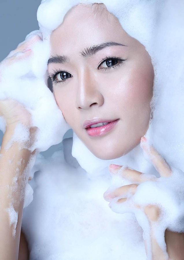 Vu Minh Hoang makeup artist. Work by makeup artist Vu Minh Hoang demonstrating Beauty Makeup.Beauty Makeup Photo #42736