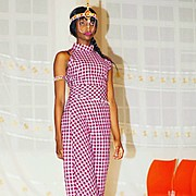 Waithera Njehia runway model. Photoshoot of model Waithera Njehia demonstrating Runway Modeling.Runway Modeling Photo #179371