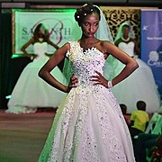 Waithera Njehia runway model. Photoshoot of model Waithera Njehia demonstrating Runway Modeling.Runway Modeling Photo #179372