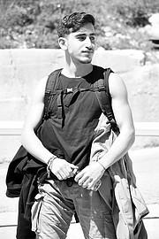 Walid Salman model. Photoshoot of model Walid Salman demonstrating Fashion Modeling.Fashion Modeling Photo #231365