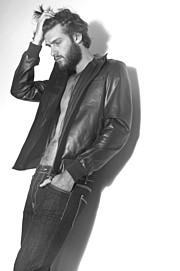 Walter Rossi model (modello). Photoshoot of model Walter Rossi demonstrating Fashion Modeling.Fashion Modeling Photo #95865