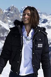 Walter Rossi model (modello). Photoshoot of model Walter Rossi demonstrating Fashion Modeling.Fashion Modeling Photo #95870